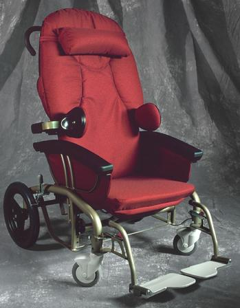 Scoot Chair Shown With Accessories
