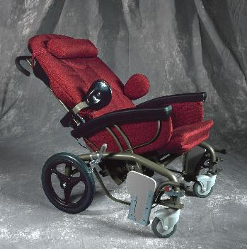 Evolution Scoot Chair in Reclined Position